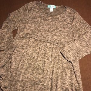 Filly Flair Grey Fleece Tunic